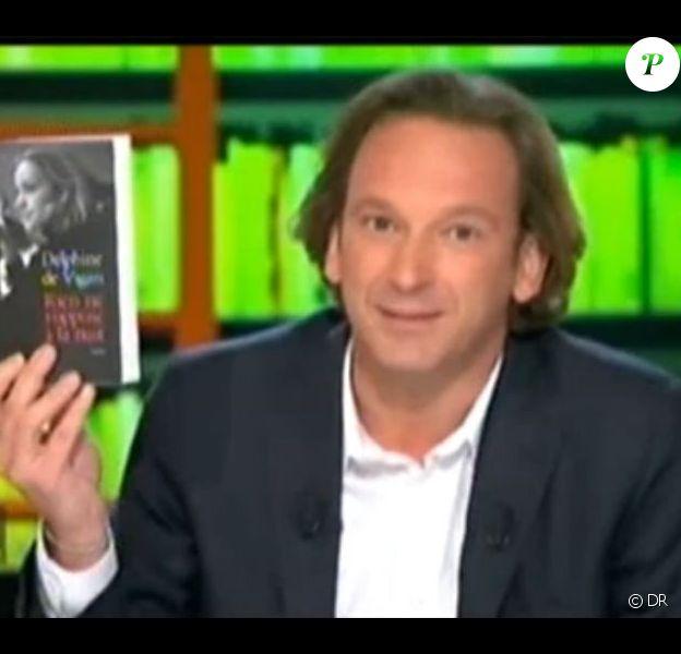 François Busnel dans son émission La Grande Librairie a reçu sa compagne, l'écrivain Delphine de Vigan, le 15 septembre dernier