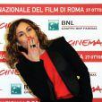 Noomi Rapace pour le photocall de Babycall lors du festival du film de Rome le 2 novembre 2011