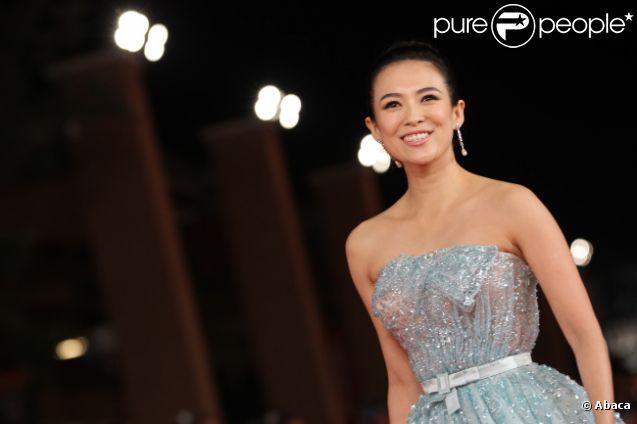 Zhang Ziyi pour la présentation de Love for Life lors du festival du film de Rome le 2 novembre 2011