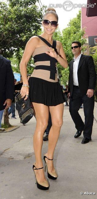 La belle Jennifer Lopez à Buenos Aires le 4 novembre 2011