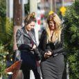 Kirstie Alley et sa fille Lillie Price complices à Los Angeles, le 4 novembre 2011