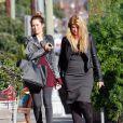 Kirstie Alley et sa fille Lillie Price passent un moment complice à Los Angeles, le 4 novembre 2011