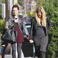 Kirstie Alley et sa fille Lillie Price à Los Angeles, le 4 novembre 2011