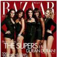Couverture du magazine Harper's Bazaar du mois de décembre 2011