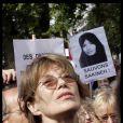 Jane Birkin, à Paris, le 12 septembre 2010.