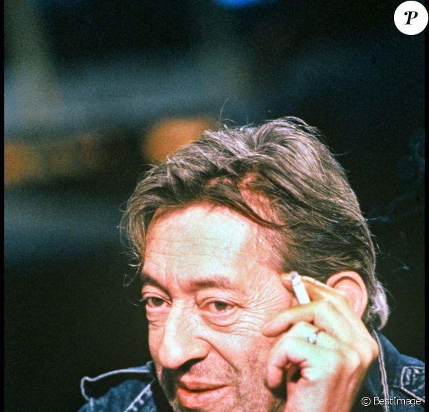 Serge Gainsbourg, à Paris, le 7 mars 1990.