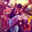 Baptiste Giabiconi et Fauve dans Danse avec les stars 2, samedi 12 novembre 2011, sur TF1
