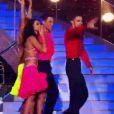 Les deux couples finalistes dans Danse avec les Stars 2, samedi 12 novembre 2011, sur TF1