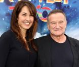 Susans Schneider et Robin Williams à l'avant-première de Happy Feet 2 à Los Angeles, le 13 novembre 2011.