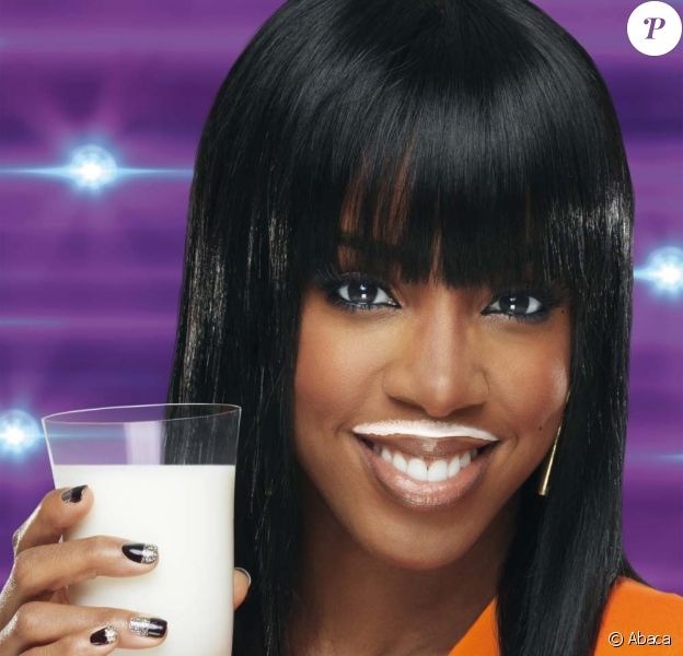 Kelly Rowland campagne Make mine Milk, novembre 2011.