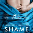 L'affiche française de Shame, en salles le 7 décembre.