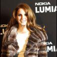 Lana Del Rey à la soirée Nokia, organisée le 24 novembre 2011, à Paris.