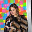 Emilie Albertini à la soirée Nokia, organisée le 24 novembre 2011, à Paris.