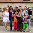 Karine Le Marchand et Stéphane Plaza et les voisins