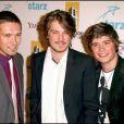 Taylor, Isaac et Zac Hanson à Los Angeles, en octobre 2006.