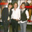 Taylor, Isaac et Zac Hanson à Los Angeles, en août 2007.