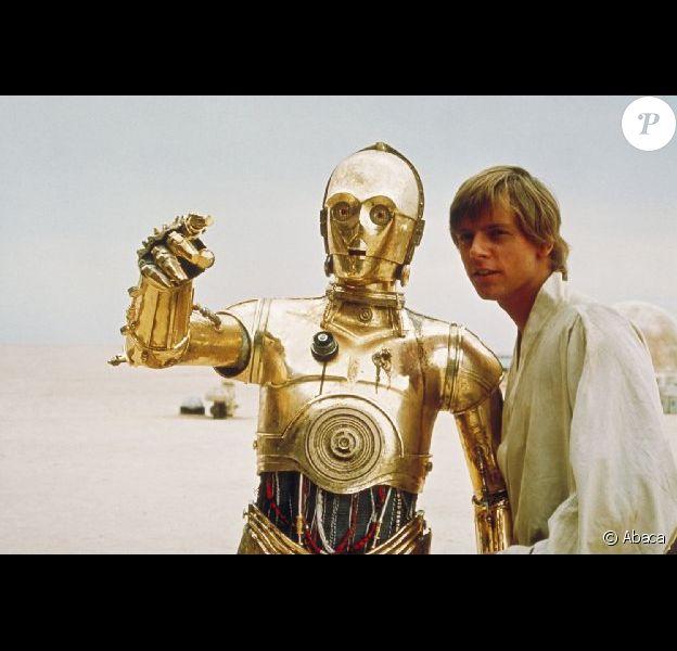 Mark Hamill dans Star Wars (1976).