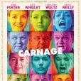 L'affiche de Carnage, de Roman Polanski.