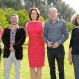 Marie Gillain, Pierre Salvadori, Sigourney Weaver, Pascal Gréggory et Farida Benlyazid pour le photocall du jury courts métrages, lors du festival international du film de Marrakech - décembre 2011
