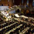 Soirée de remise des Nobel de médecine, littérature, physique, chimie et économie à Stockholm le 10 décembre 2011.