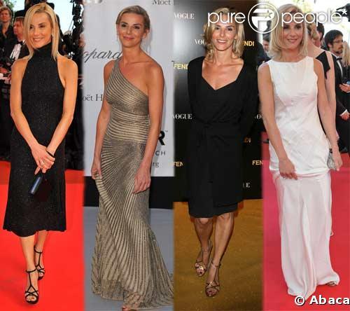 Toutes les tenues de Laurence Ferrari au Festival de Cannes 08