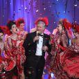 Patrick Sebastien sur son 31 pour Le grand cabaret sur son 31, diffusé le 31 décembre 2011, sur France 2