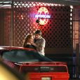 Marcia Cross sur le tournage de  Desperate Housewives  filme une scène d'agression, à Los Angeles, le 15 décembre 2011.