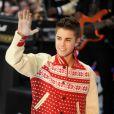 La sensation pop/r'n'b Justin Bieber, à New York le 23 novembre 2011.