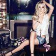 Lindsay Lohan, sexy et rebelle pour sa campagne publicitaire de JAG Jeans.