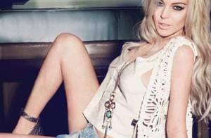 Lindsay Lohan se rhabille pour devenir une égérie sexy et rebelle