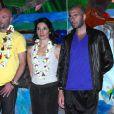 Zidane et les siens en Polynésie
