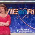 Anne Roumanoff dans l'émission La Vie en rire, vendredi 30 décembre 2011 sur France 3
