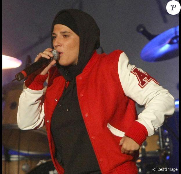 Diam's en concert au Bataclan en 2010
