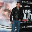 lors de l'avant-première du film Une nuit à Paris le 2 janvier 2012