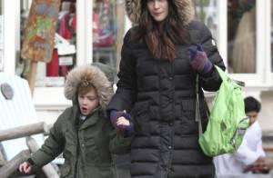 Liv Tyler : Une maman eskimo pour accompagner son fils Milo à l'école