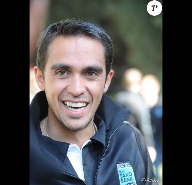 Alberto Contador le 6 décembre 2011 à Jérusalem