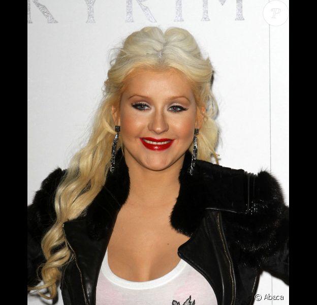 Christina Aguilera à Los Angeles en novembre 2011