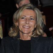 Claire Chazal radieuse auprès de son fils François à la Comédie Française