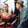 Denise Darcel face à Gary Cooper dans Vera Cruz.
