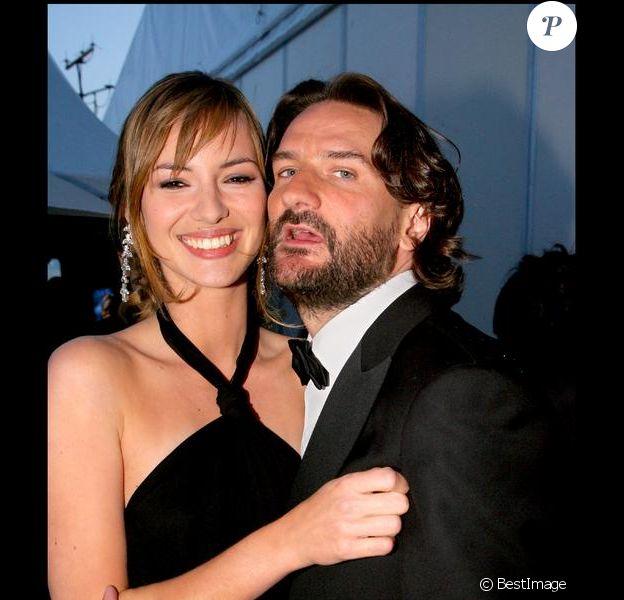 Louise Bourgoin et Frédéric Beigbeder au Festival de Cannes en 2007
