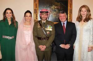 Le prince Hamzah a épousé la princesse Basma Bani devant Noor, Rania et Abdullah