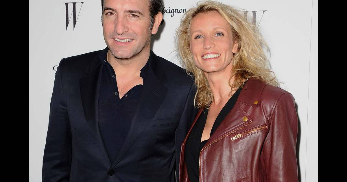 Jean dujardin et alexandra lamy la soir e pr golden for Dujardin 94
