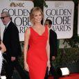 Stacy Keibler, en Valentino, lors des Golden Globes le 15 janvier 2012 à Beverly Hills