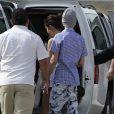 Justin Bieber et Selena Gomez le 6 janvier 2012 au Mexique