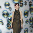 Carrie Preston à l'after party des Golden Globes de HBO, le 15 janvier 2012 à Los Angeles.