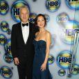 Tim Robbins et Eva Amurri à l'after party des Golden Globes de HBO, le 15 janvier 2012 à Los Angeles.