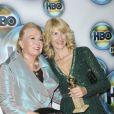Laura Dern et sa mère Diane Ladd à l'after party des Golden Globes de HBO, le 15 janvier 2012 à Los Angeles.
