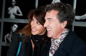 François Cluzet, aux anges, avec sa femme : un parrain dévoué