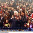 La princesse Stéphanie avec ses filles et le prince Rainier III en janvier 2002 au Festival International du Cirque de Monte-Carlo.   La princesse Stéphanie de Monaco livre une interview croisée débordant d'amour avec ses deux filles, Pauline et Camille, dans le magazine  Gala  en date du 18 janvier 2012.