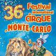 Affiche de la 36e édition du Festival International du Cirque de Monte-Carlo (19-29 janvier 2012)